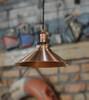 Copper Hanging Light
