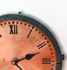 etched face clock