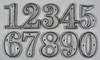 Metal House Numbers