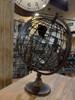 Metal Earth Globe - Dark Brown