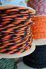 Black & Orange Cloth Wire