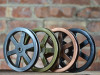 "Pulley Wheel - 5"" - Antique Copper Finish"