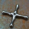 Steam Handle - Antique Nickel