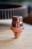 Copper Candelabra Light Socket