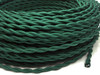 Cloth Covered Wire Green