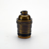 Antique Brass Keyless Socket
