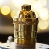 Brass Light Socket