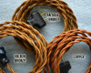 Golden Bronze Twisted Rayon Wire - By the Foot - Small Qty - 18 Gauge