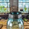 Antique Black Ball Jar Lid