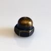 Cap Nut - Antique Brass