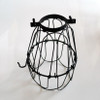 Black Industrial Bulb Cage