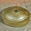 Canopy - Cast Aluminum - Face Mount - Grunge Antique Brass