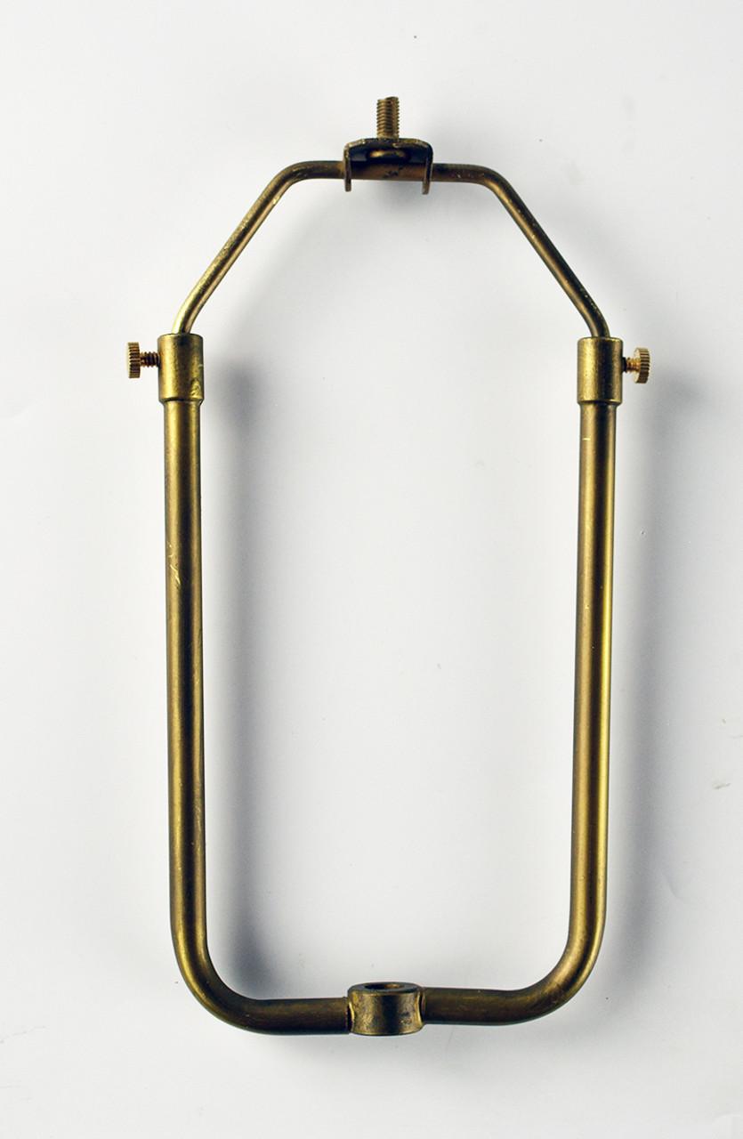 Lamp Harp Antique Brass