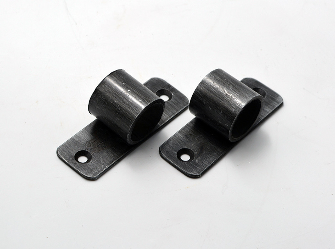 Pipe Brackets - Set of Two - 3-1/2