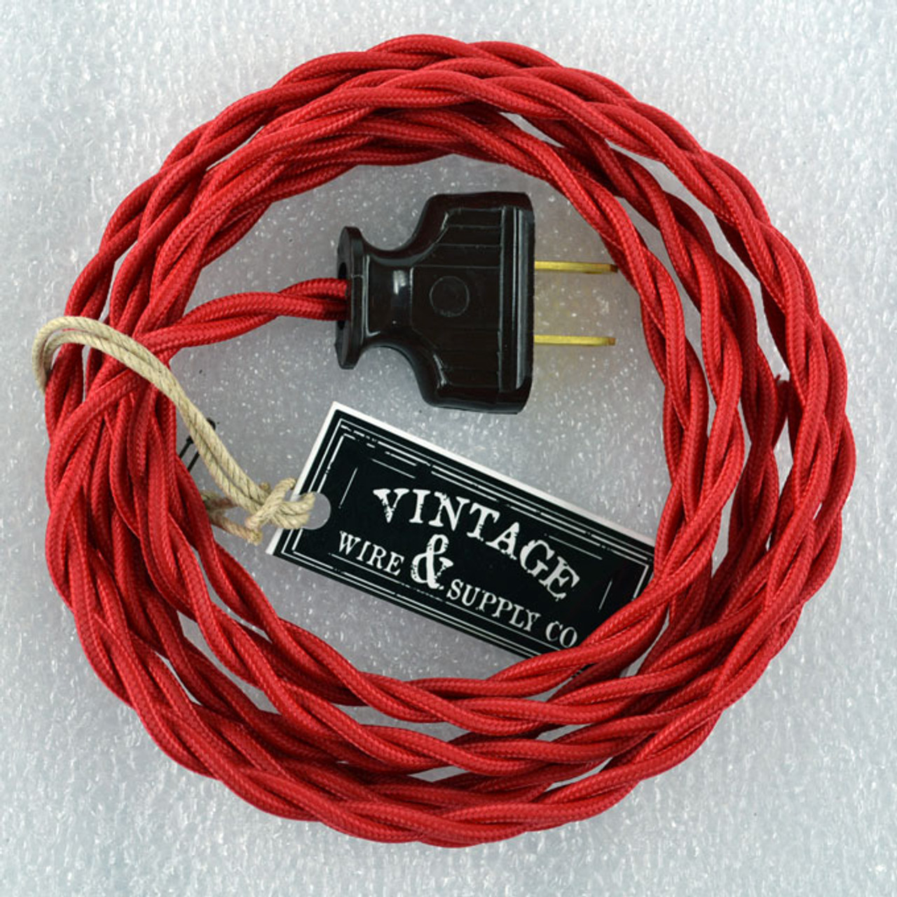 Superb Cloth Covered Wire From Vintage Wire And Supply With Antique Style Plug Wiring Database Numdin4X4Andersnl