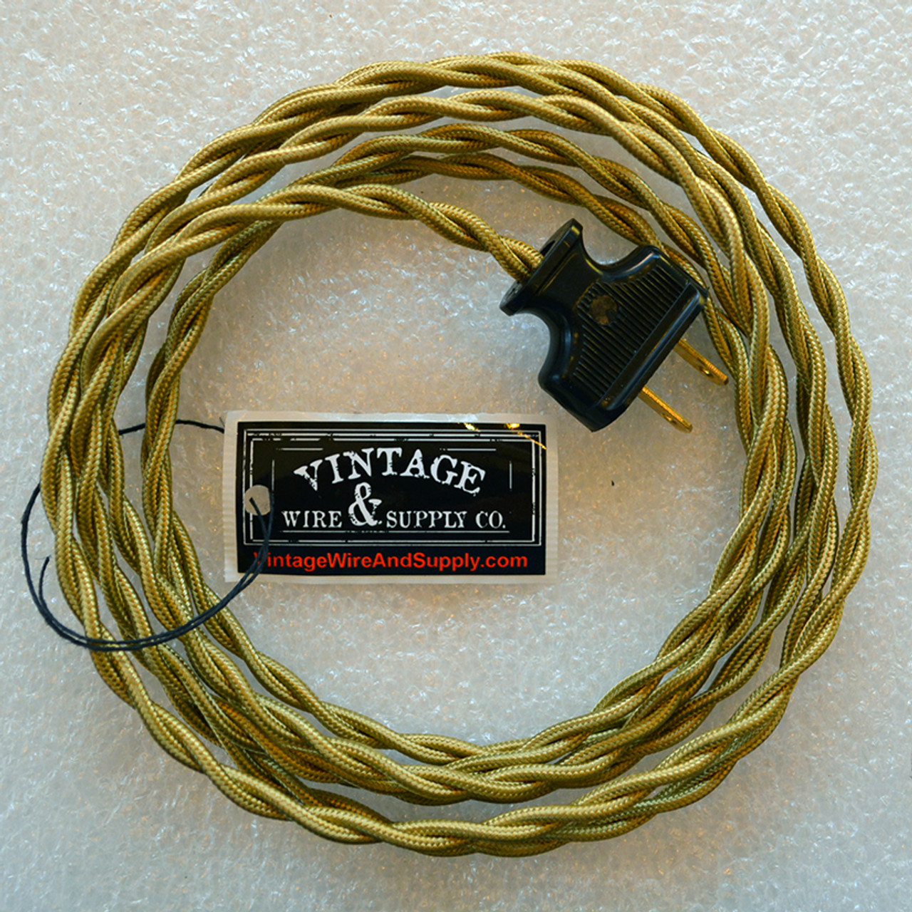 Harvest Wheat Wire Bronze Cloth Wire From Vintage Wire And Supply
