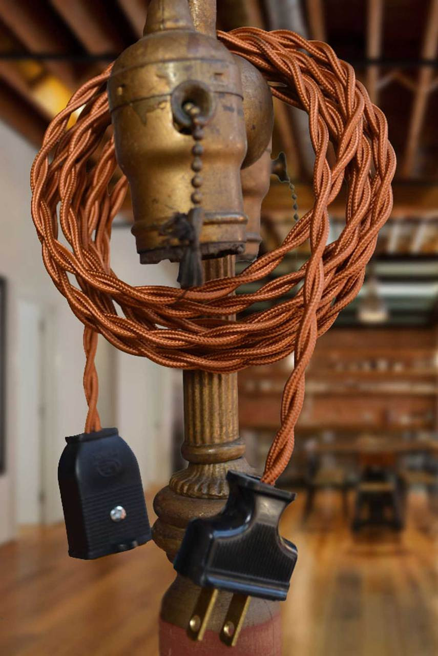 Copper Rayon Twisted Wire By The Foot Small Qty 18 Gauge