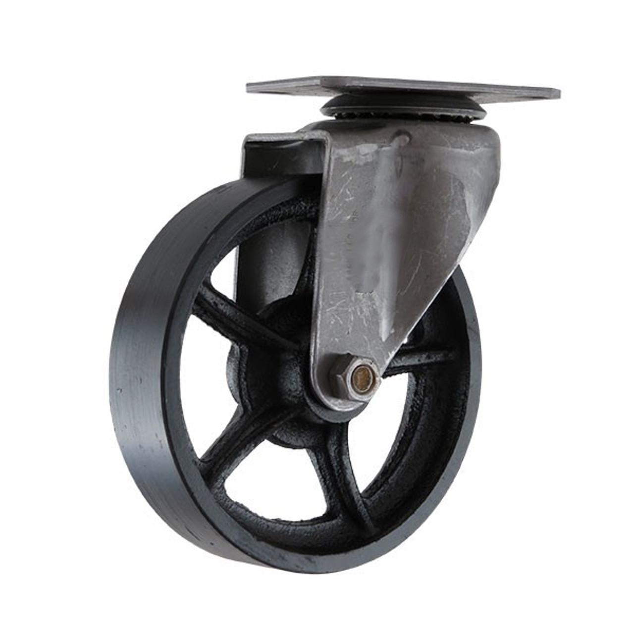 Industrial Vintage Caster Cast Iron Swivel