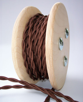 Brown Cloth Wire