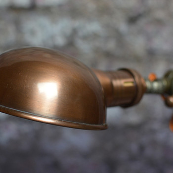 Parabolic Copper Shade