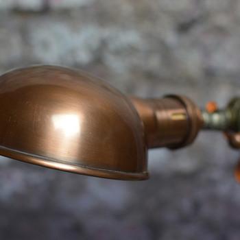 Parabolic Copper Shade