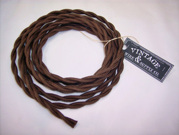 Brown Cotton Cloth Wire