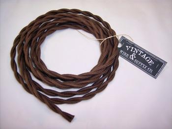 Brown Cotton Cloth Wire