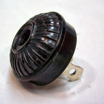 Antique Replica Mid-Century Plug - Black