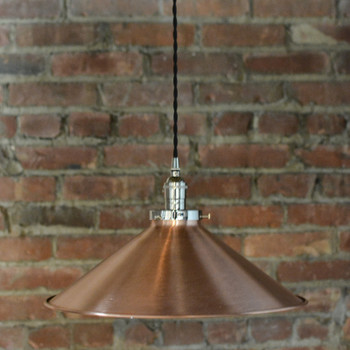 "16"" solid Copper Shade"