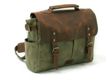 Olive Green Messenger Bag