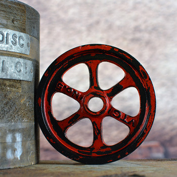 Engine Red Pulley Wheel