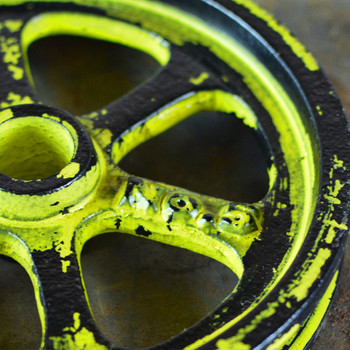 Yellow Pulley Wheel