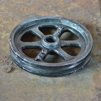 Gray Pulley Wheel