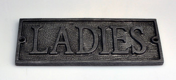 Ladies Cast Plaque