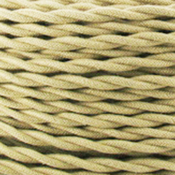 Tan Cotton wire