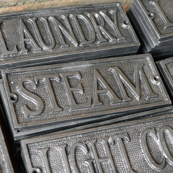 Steam Plaque