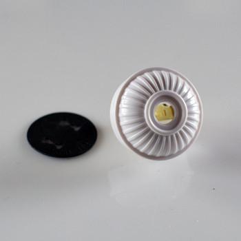 White Antique Plug
