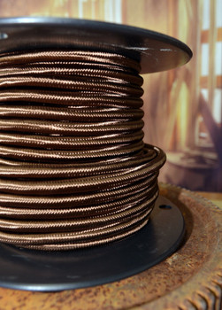 Brown Rayon Vintage Pulley Cord