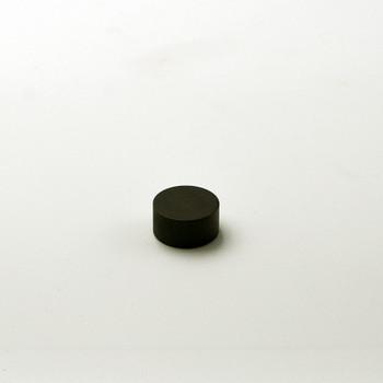 1/8 IPS Finial Cap - Black Finish