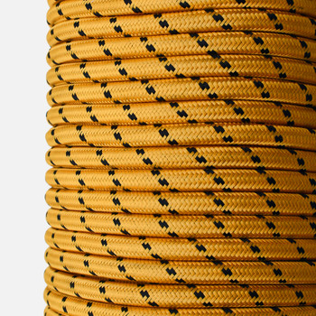 Cloth Wire yellow Jacket 3-conductor