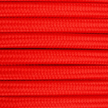 Red Round 3-Conductor Cord 18 Gauge