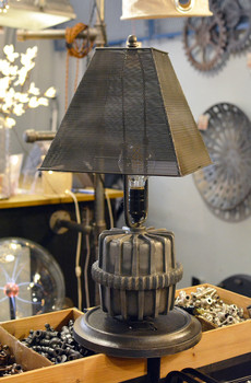 Perforated Square Steampunk Shade