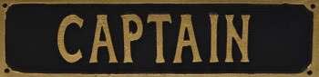 Captain Sign