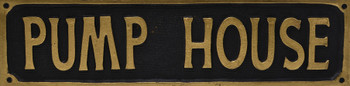 Pump House Sign