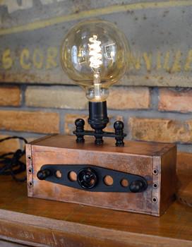 Copper Box Light