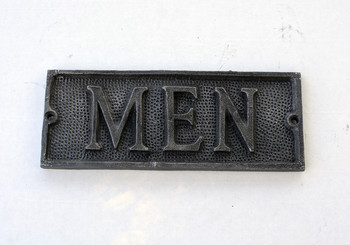 Men Door sign