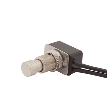 Push-Button Nickel Plated Switch