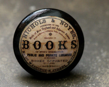 Books Antique Knob