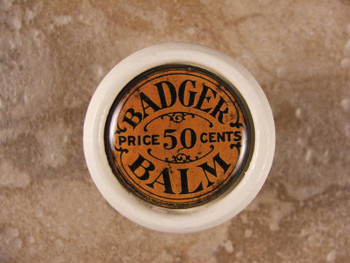Badger Balm Antique Knob