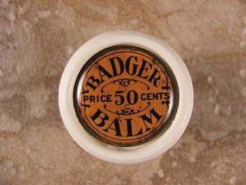 Badger Balm Antique Knob